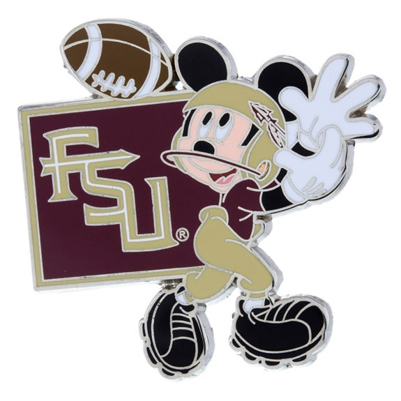 NCAA Florida State Mickey Pin