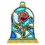 Beauty & the Beast Rose Pin