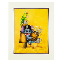 Pirate Stitch Deluxe Print by Bolly