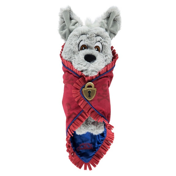 Baby Pirates Dog in a Blanket Plush 10""