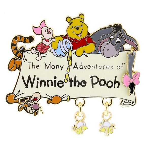 Winnie the Pooh Attraction Pin