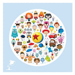World of Pixar Canvas Wrap by Maruyama