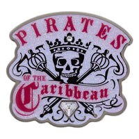 Pirates of the Caribbean Skull Crown Pin