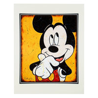 Mickey Thinking Aloud Print by Kaminski