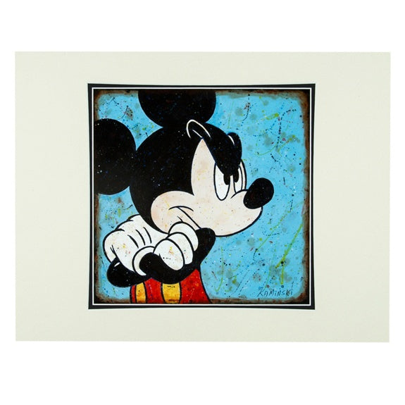 Mickey Grudge Deluxe Print by Kaminski