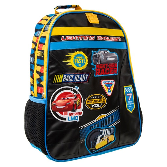 Cars 3 Patches Backpack