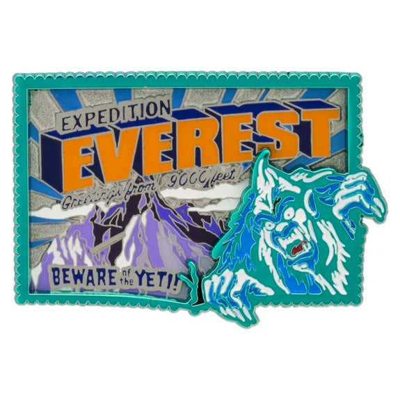Expedition Everest Yeti Pin