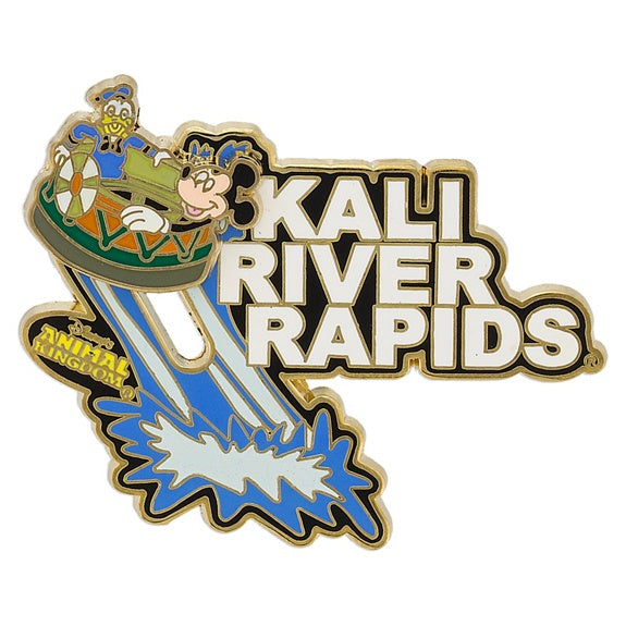 Kali River Rapids Pin