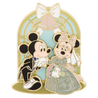 Mickey & Minnie in the Chapel Pin