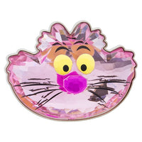 Cheshire Cat Glass Sculpted Pin