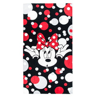 Bow Crazy Minnie Beach Towel