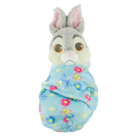 Baby Thumper in Blanket Pouch Plush 10""