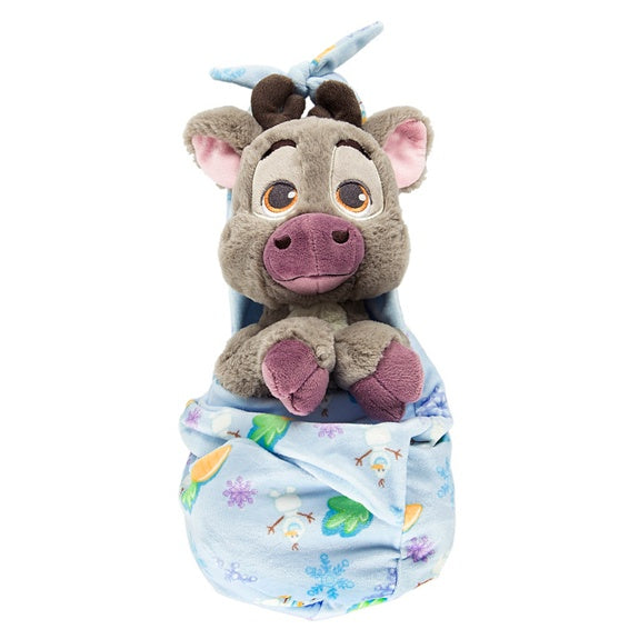 Baby Sven in a Blanket Pouch Plush 10""