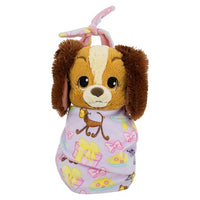 Baby Lady in a Blanket Pouch Plush 10""