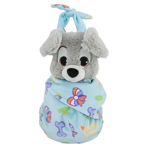 Baby Scamp in a Blanket Pouch Plush 10""