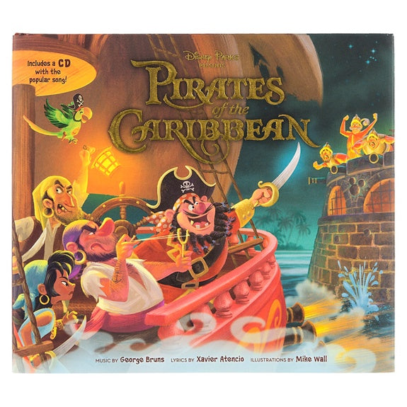 Pirates of the Caribbean Book with CD