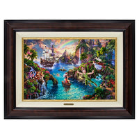 Peter Pan's Never Land 18x27 by Kinkade
