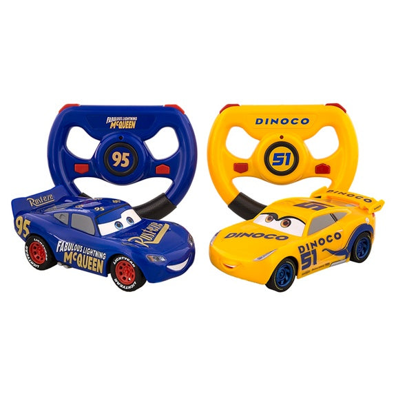 Cars 3 Remote Control Vehicle - Set of 2