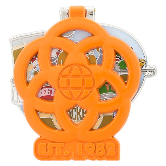 Epcot 35th Kitchen Krackpots Pin