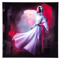 Star Wars Leia Canvas Wrap 14x14