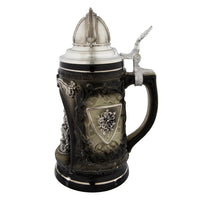 Norway Viking Grotto Tall Mug with Lid