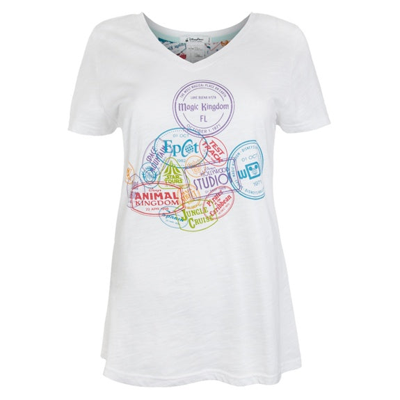 Walt Disney World V-Neck Tee