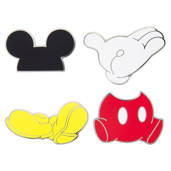 Mickey Flair Pin Set