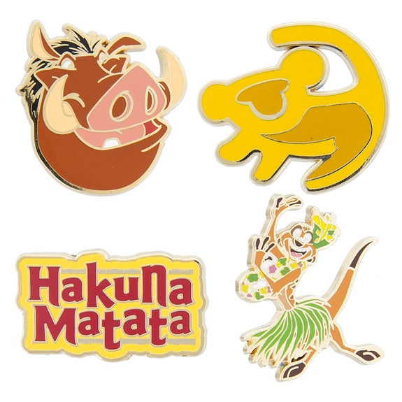 The Lion King Flair Pin Set