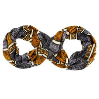 Mickey Icon Animal Print Infinity Scarf
