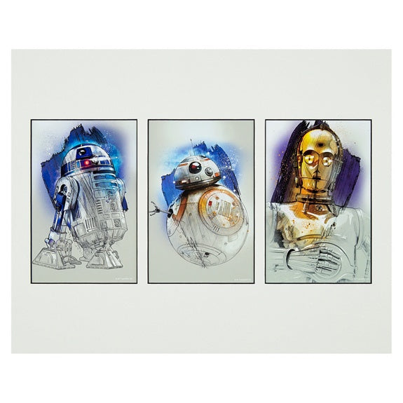 Star Wars Droids Deluxe Print
