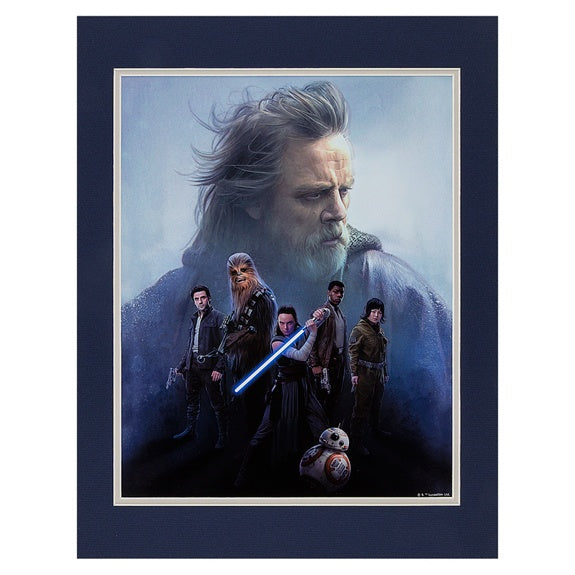 Star Wars The Last Jedi Deluxe Print