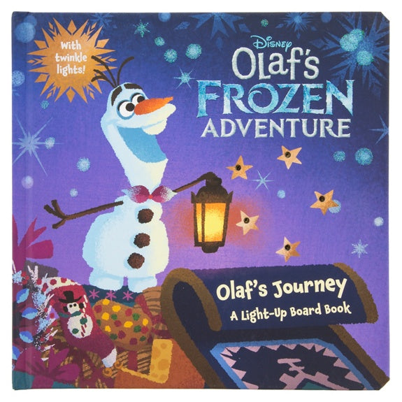 Olaf's Frozen Adventure Book