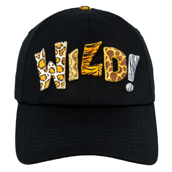 Mickey Icon Animal Print Baseball Cap