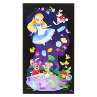 Mad Tea Party Canvas Wrap by Robinson