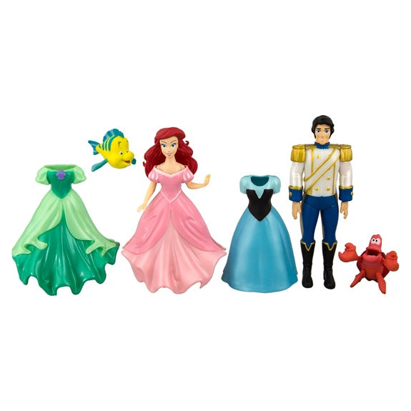 Ariel & Eric Deluxe Fashion Play Set