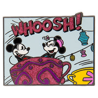 Mickey & Friends Comic Mad Tea Party Pin