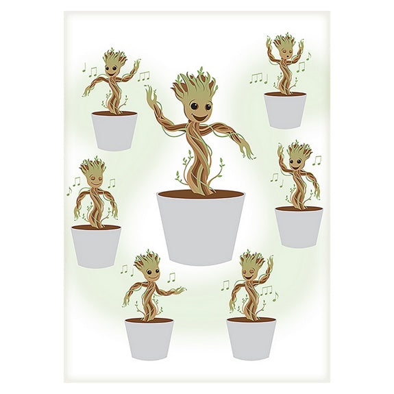 Marvel Dancing Groot Canvas Wrap
