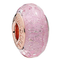 Murano Glass Charm PANDORA Rose Jewelry