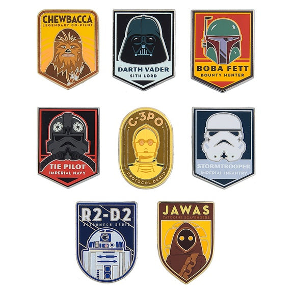 Star Wars Retro Mystery Pins