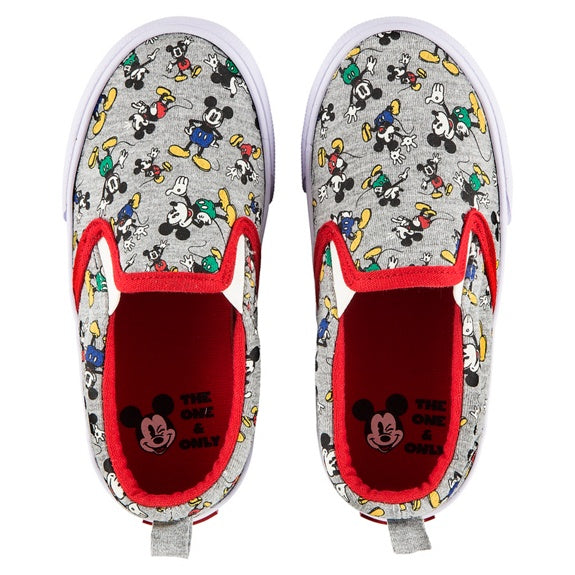 Mickey Timeless Canvas Shoes - Youth