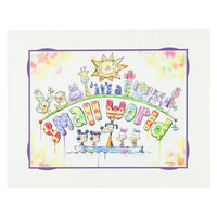 Small World Pals Deluxe Print by Buckley