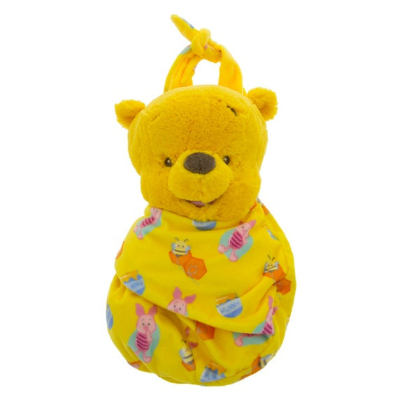 Baby Pooh in a Blanket Pouch Plush 10""