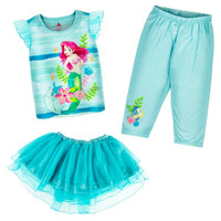 Ariel Youth 3-Piece Pajama Set