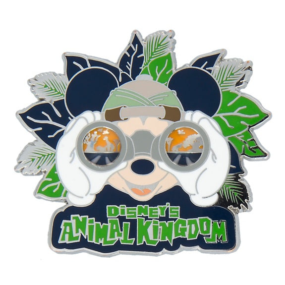 Disney's Animal Kingdom Mickey Pin