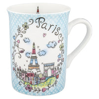 Paris Clouds Mug