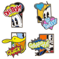 Mickey & Friends Comic Pin Set
