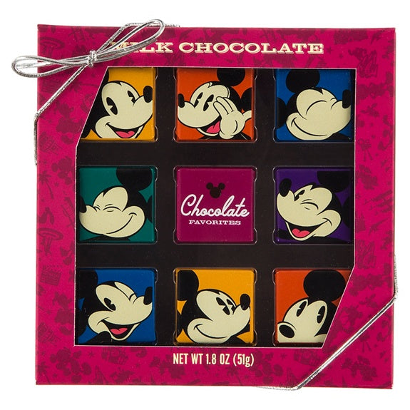 Mickey Milk Chocolate Squares 1.8 oz