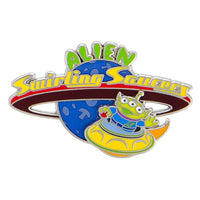 Toy Story Land Alien Saucers Pin