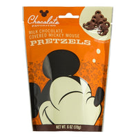 Mickey Chocolate Covered Pretzels 6 oz