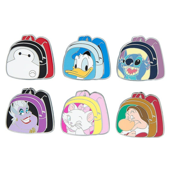 Magical Mystery Character Backpack Pin